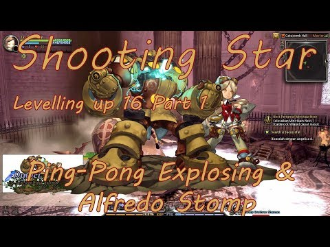 Dragon Nest Shooting Star Leveling-up to 95 Part 1 | Ping-pong Explosion - April 2018 revamp