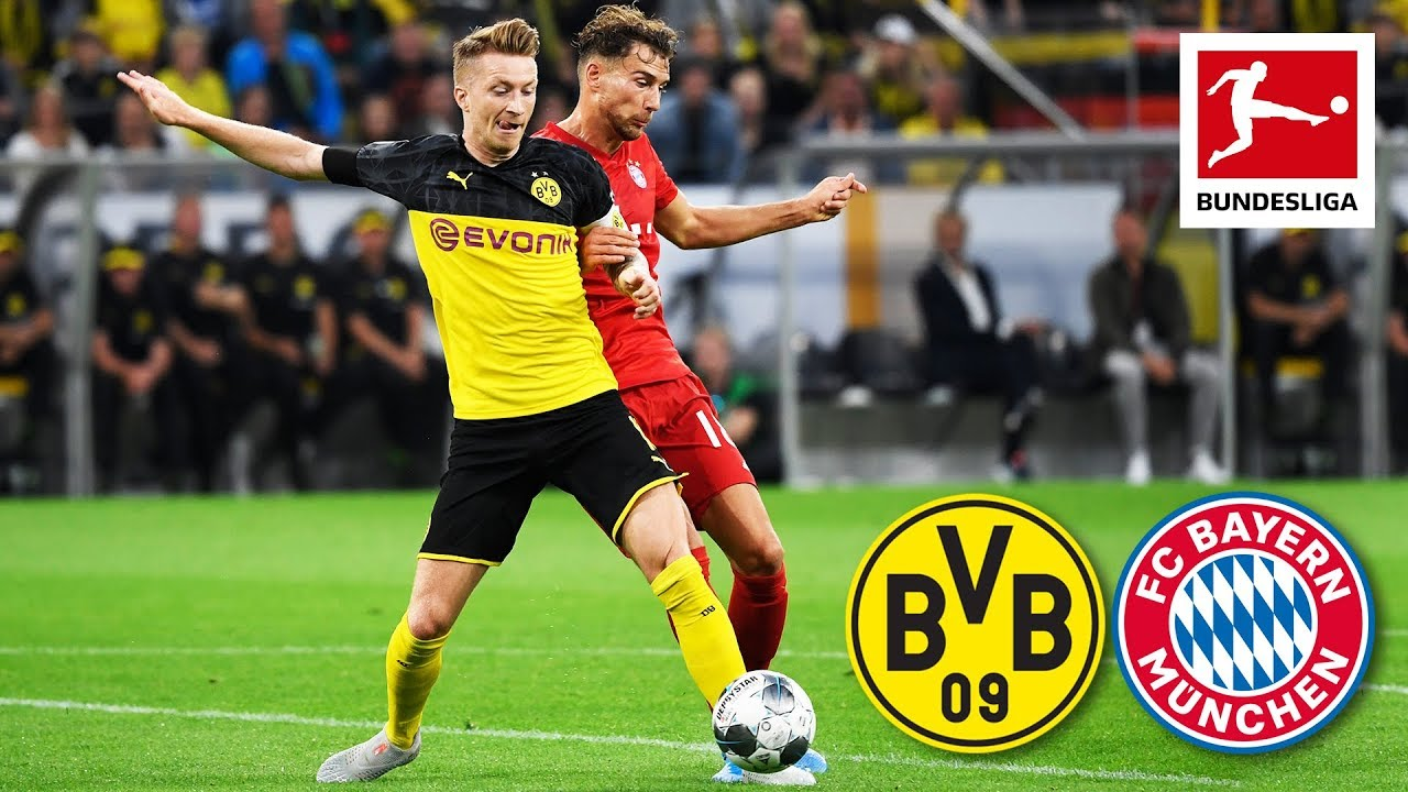 Borussia Dortmund Vs Fc Bayern Munchen 2 0 Supercup 2019 Highlights