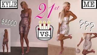 MAKING KYLIE JENNER'S 21ST BIRTHDAY OUTFIT (*for cheap!*)