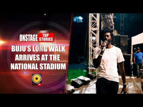 Buju's Long Walk Arrives at The National Stadium