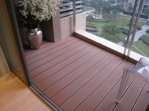 2nd floor balcony decking ideas - YouTube