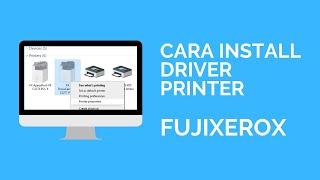 Cara install driver printer fu…