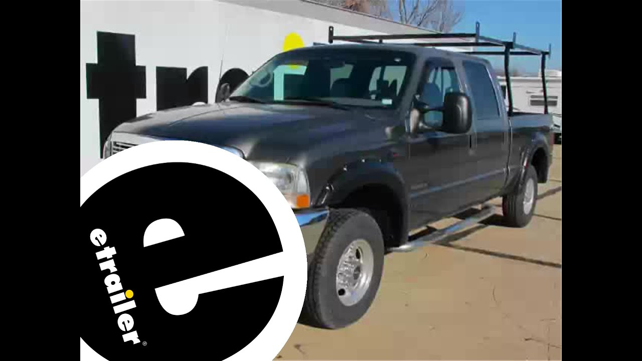 Install Front Mount Trailer Hitch 2002 Ford F250 Super Duty C31014 F 250 Engine Diagram E