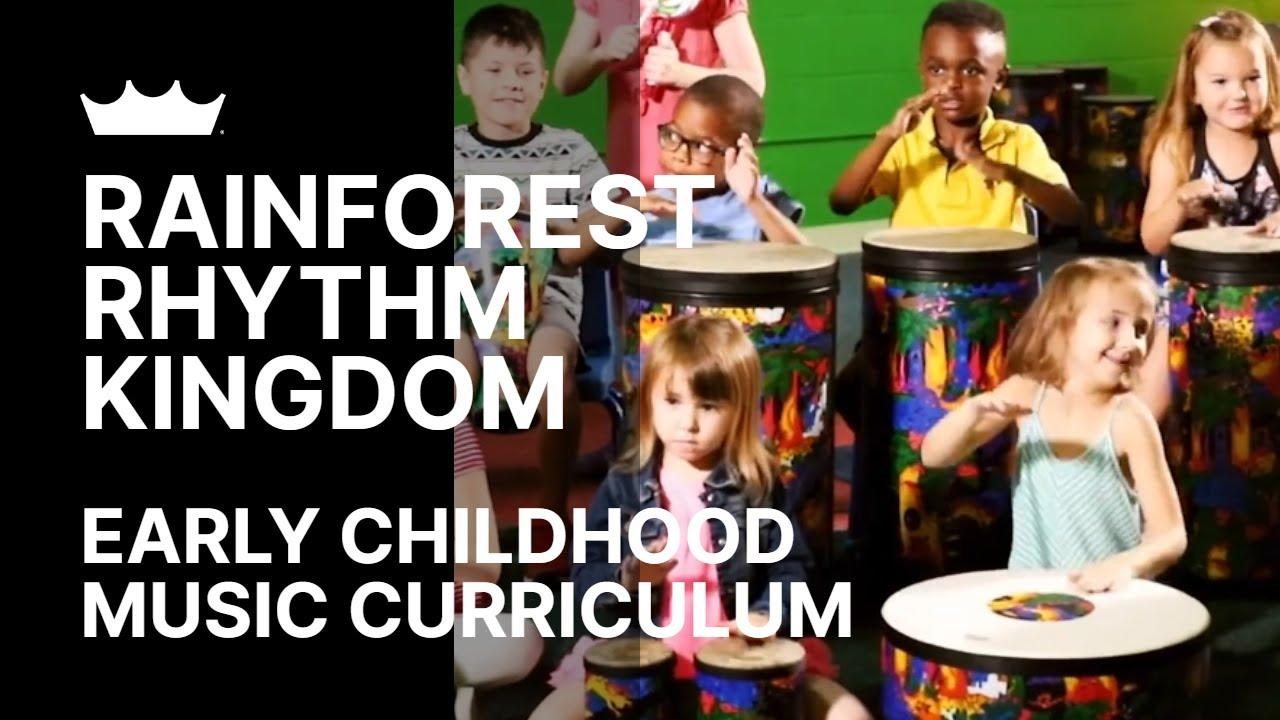 Remo + Rainforest Rhythm Kingdom: An Early Childhood Rhythm, Movement And Music Program