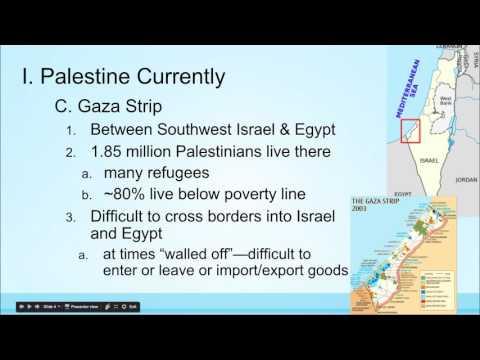 Current Israeli \u0026 Palestinian Political Parties