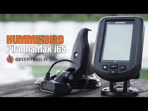 Humminbird PiranhaMax 165 - Kannettava Kaikuluotain
