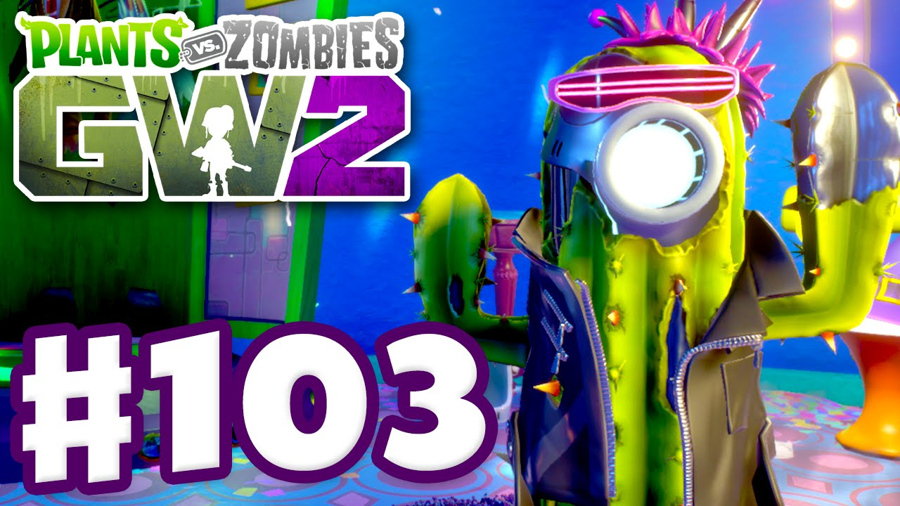 Plants Vs Zombies Garden Warfare 2 Gameplay Part 103 Future Cactus Pc Youtube