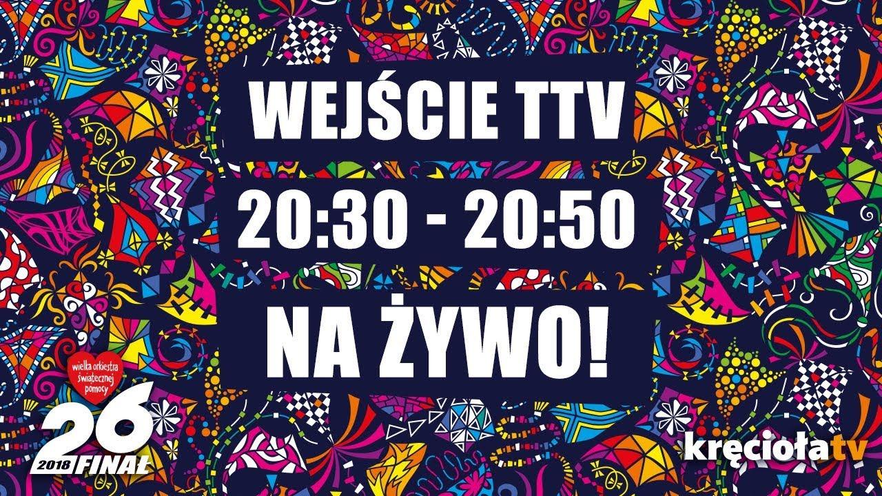 26. Finał WOŚP na żywo! TTV 20:30 – 20:50
