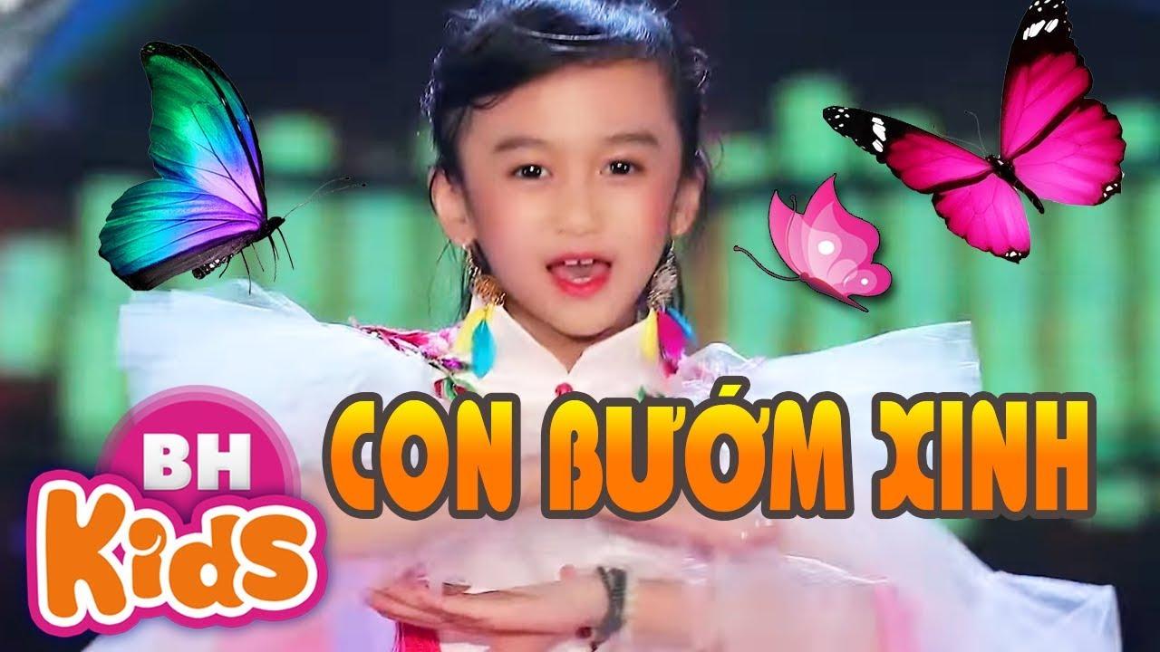 CON BƯỚM XINH - Bé 6 Tuổi Hát Cực Sung Khán Giả Vỗ Tay Không Ngớt Bé Tú Anh
