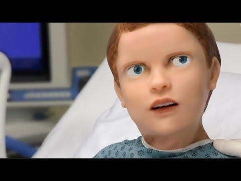 超逼真的机器人娃娃,会流血、会喊妈妈,却吓跑了一大群医学生