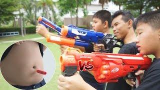 Nerf  VS   พุง จะเป็นยังไง ?