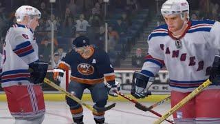 NHL 06 Gameplay - NY Rangers @ NY Islanders