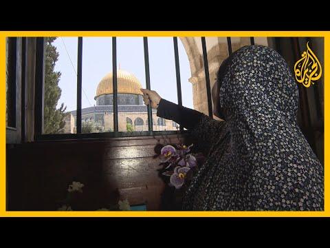 عشرات الفلسطينيين يؤدون صلاة الجمعة الأخيرة من رمضان على أعتاب المسجد الأقصى ????  - 23:59-2020 / 5 / 22