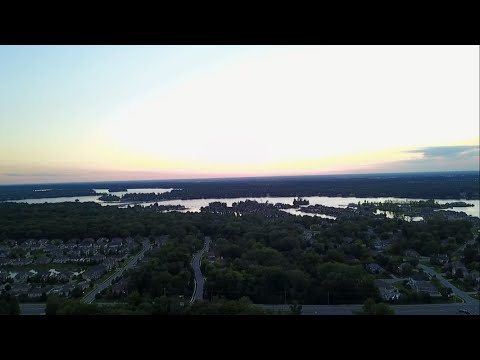 Drone Flying Over Fishers IN