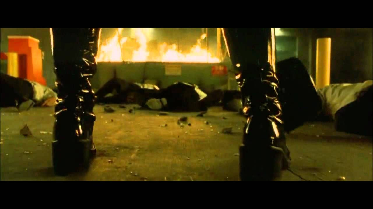 guile 39 s theme goes with everything the matrix reloaded trinity youtube. Black Bedroom Furniture Sets. Home Design Ideas