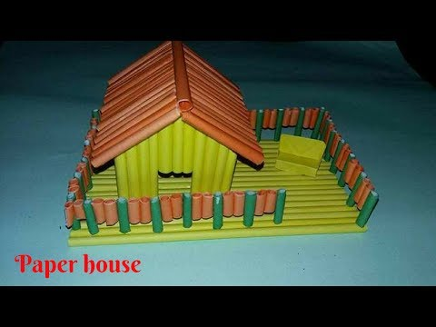 DIY: How To Make a Paper House | Crafting My Style