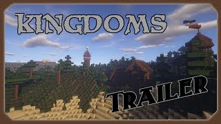 Thats my medieval Minecraft Map called Kingdoms Kingdoms include 4 medieval citys aswell as  5 Castles  and a island with a fort and some houses. For more updates of the check out my twitter their I tweet new pictures of the current state of the map and s