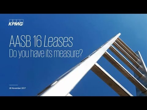 """AASB 16 Leases – Do you have its measure?"""" – Webinar"""