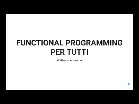 Functional Programming per tutti - HACK-ademy