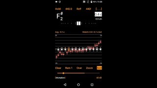 Measure and compare instrument tunings using Intonation Expert app for Android