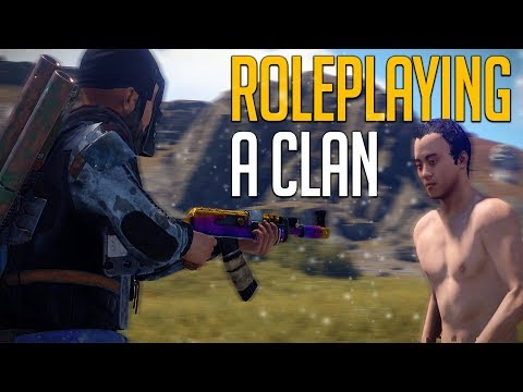 ROLE PLAYING A CLAN TO GET FULL GEAR! - Rust