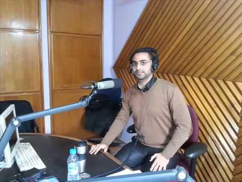 Mon Passage Sur Radio chaine inter , Avec L'animateur Hicham Lazraq