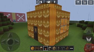 Planet Craft: Block Survival Craft Game Online Gameplay #22 (iOS & Android) | Jack 'O' Lantern Hut