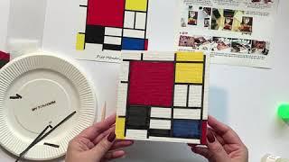모자이크 컬러링 체험용 미술놀이 교구를 소개합니다.  …
