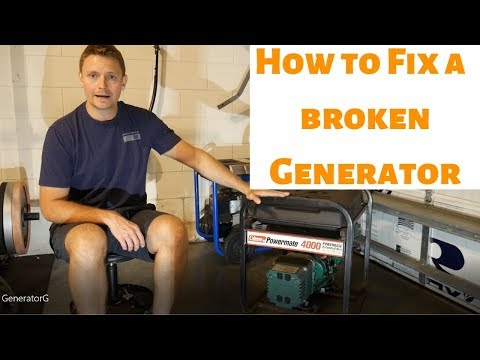 How to diagnose and fix a generator that will not run