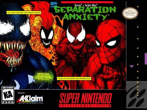 Spider Man & Venom Separation Anxiety SNES Longplay - YouTube Maximum Carnage Game