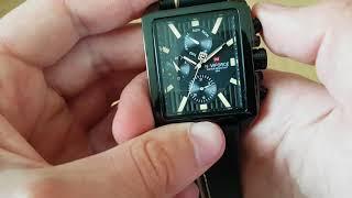Мужские часы Naviforce Quadro / 9111. Как настроить, инструкция. Видео обзор!