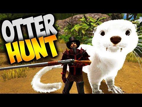 Ark: Survival Evolved - Otter Hunting (Modded Ark Gameplay Gaia & Project Echelon Dinos Part 10)