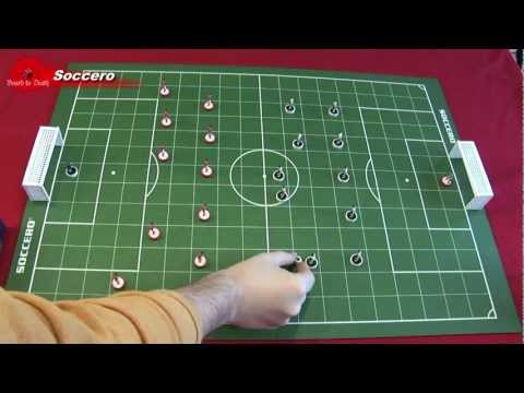 Soccero Board Game Video Review