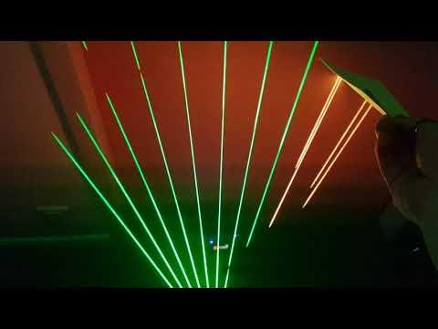 Création d'un patch avec le contrôleur harpe laser LHC V2