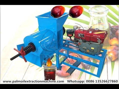 300-500kg/H Small Scale Palm Oil Press Machine for Sale