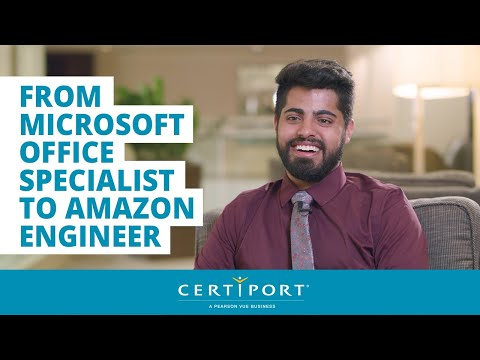 From Microsoft Office Specialist To Amazon Engineer