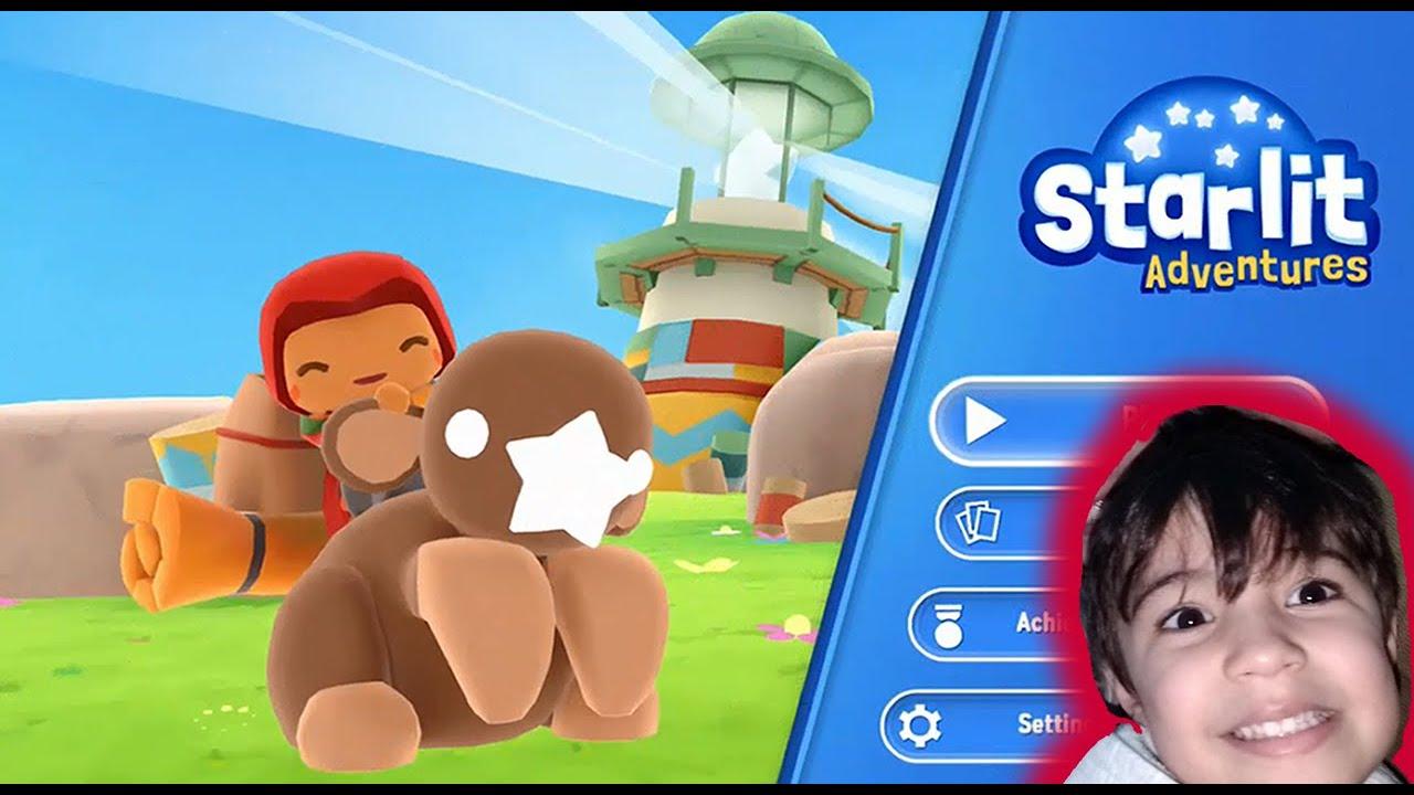 Pietro joga Starlit Adventures!!! As aventuras de uma toperias