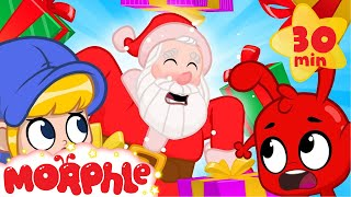 Santa Is SICK! My Magic Pet Morphle | Christmas Cartoons For Kids | Morphle TV | BRAND NEW