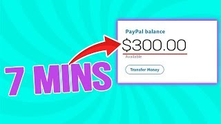 Get Paid $25-$300 in 7 MINUTES (Easy Way to Make Money Online)