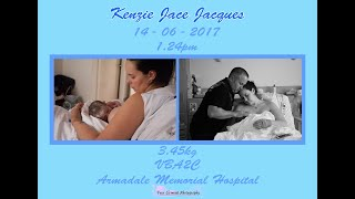 Birth of Baby Jacques | VBA2C | Armadale Memorial Hospital
