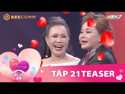Việt Hương, Lê Giang thi nhau quảng cáo trên show hẹn hò   Teaser Tần Số Tình Yêu tập 21