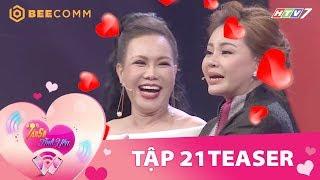 Việt Hương, Lê Giang thi nhau quảng cáo trên show hẹn hò | Teaser Tần Số Tình Yêu tập 21