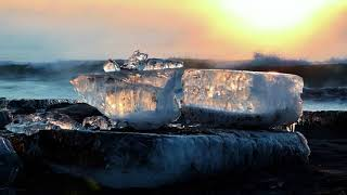 美しすぎるジュエリーアイス 北海道豊頃町 Jewelry Ice@Ohtsu Coast