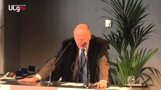 Discours de Christian Hanzen, représentant du corps académique