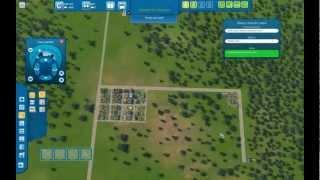 Cities XL 2012 - Começando a cidade
