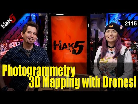 Building 3D Topographic Maps with the DJI Mavic Pro - Hak5 2115