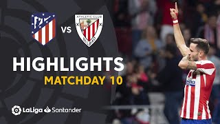 Highlights Atletico Madrid vs Athletic Club (2-0)