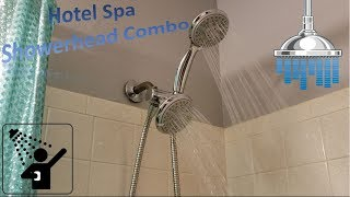 Hotel Spa 24 Setting Showerhead Combo Review