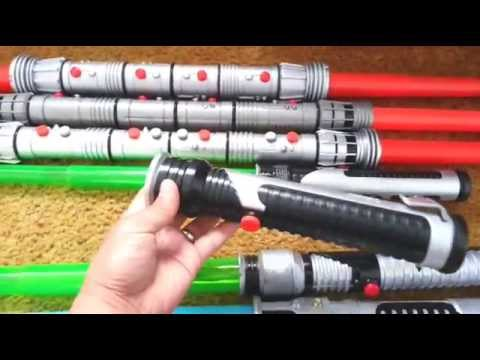 SMU Toys Star Wars Lightsaber Collection YouTube