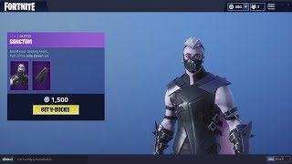 Fortnite New Sanctum Skin & Moonrise Pickaxe - October 19th Item Shop